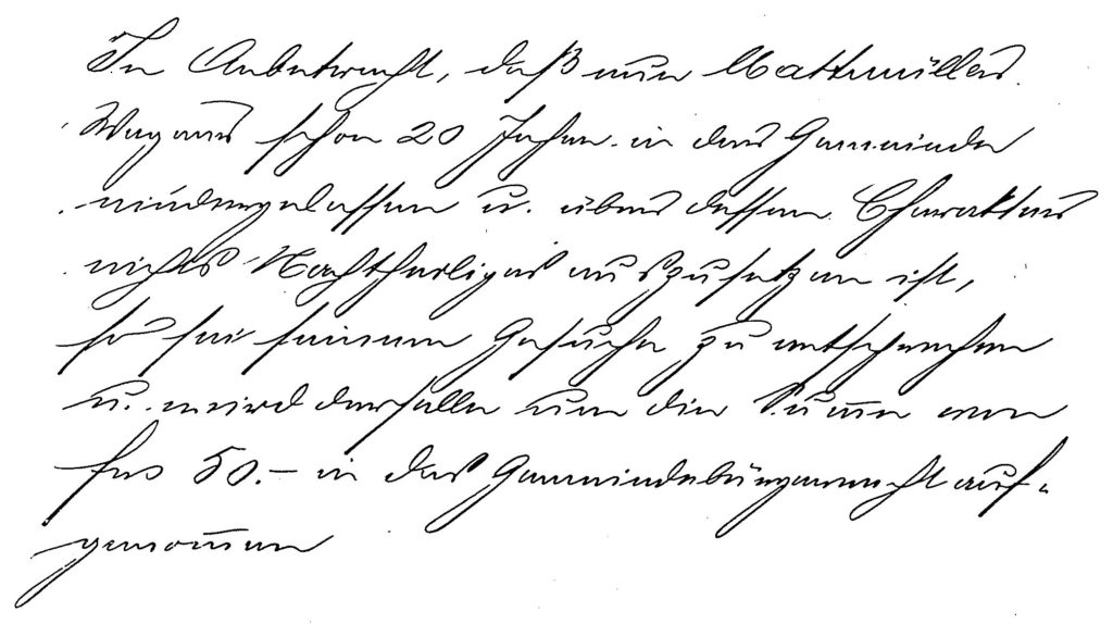 Protokoll 6.8.1893