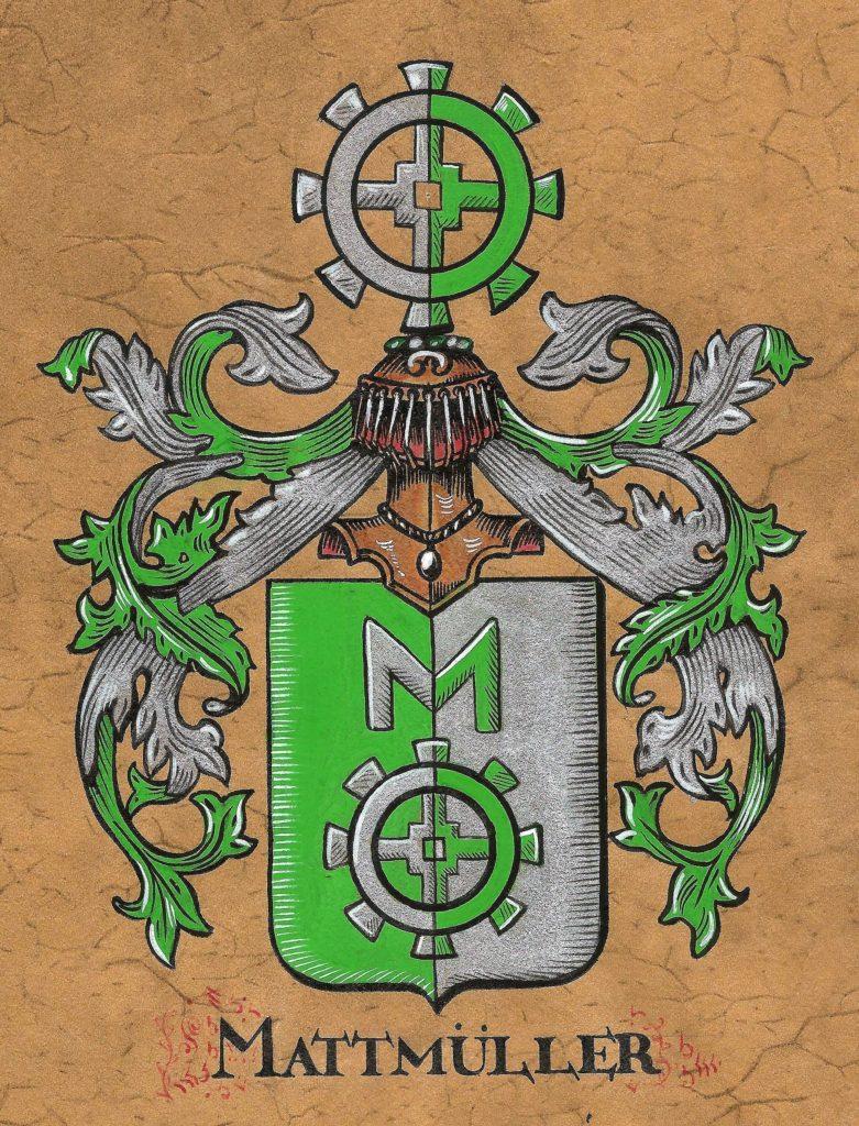 Wappen Ernst Mattmüller