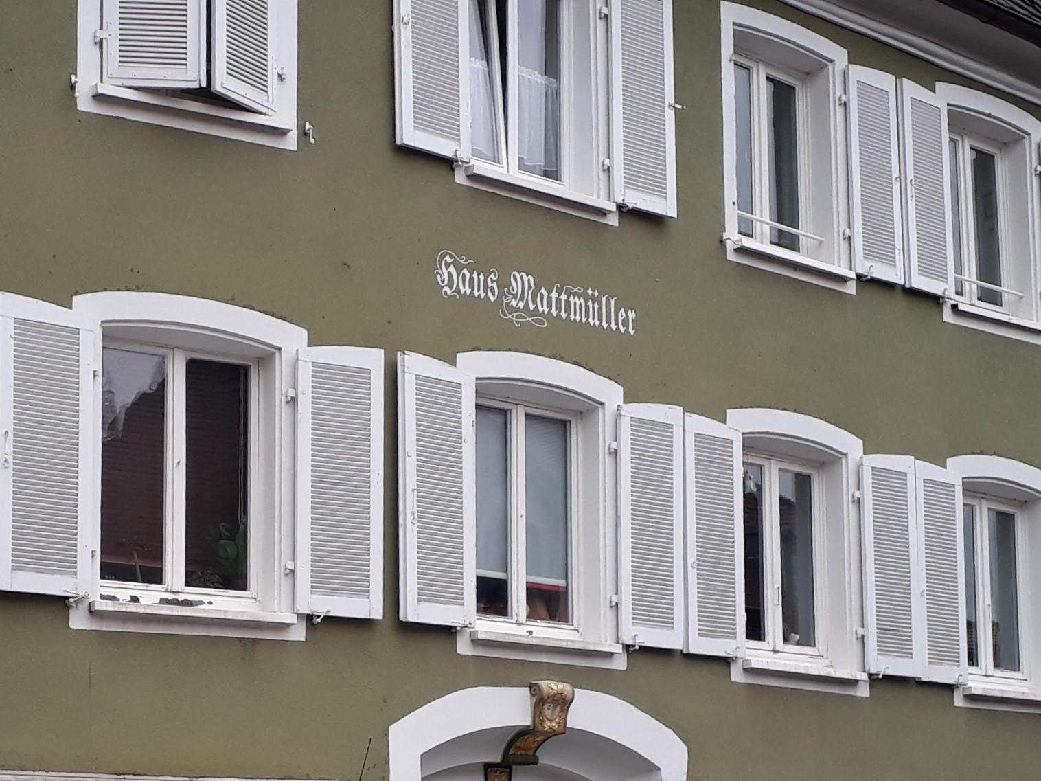 Mattmüller-Haus in D-Müllheim