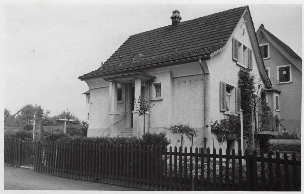 Einfamilienhaus Wallisellen ZH, Säntisstrasse 32